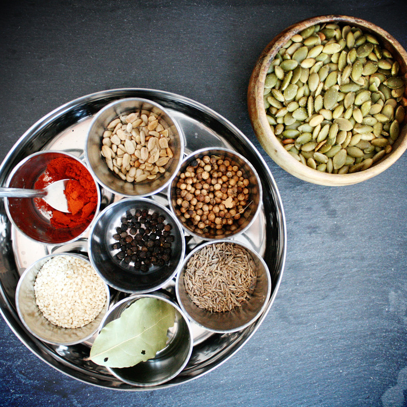 spices & seeds {wholly rooted}
