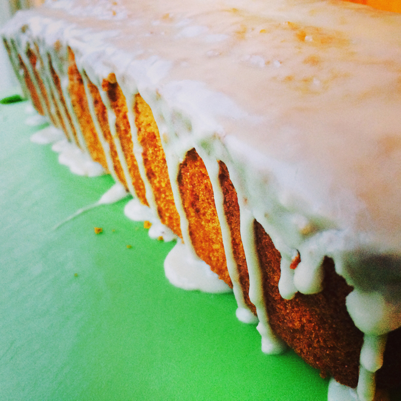 GF/DF/NF lemon loaf {wholly rooted}